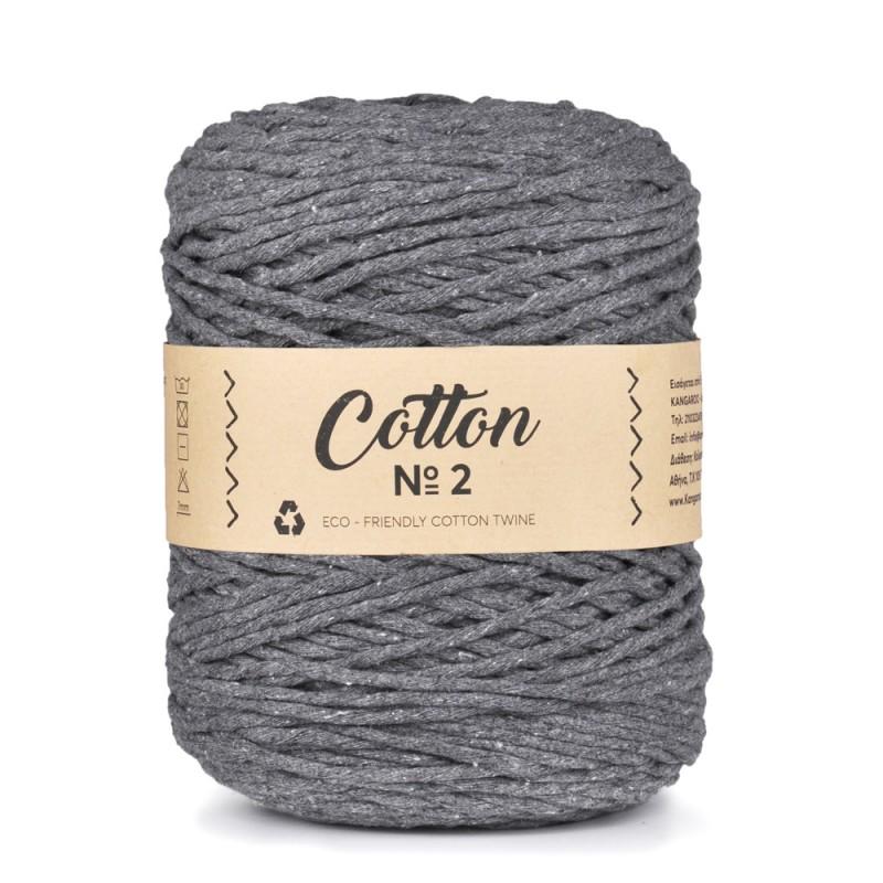 Cotton No2 - 4mm Γκρι 78