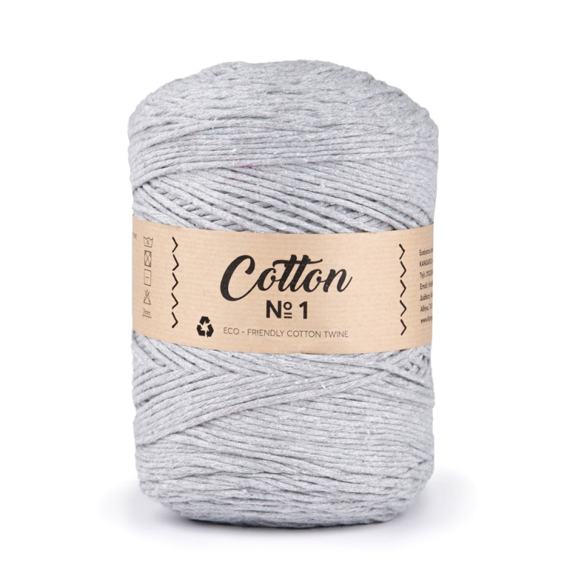 Cotton No1 - 2.5mm Γκρι  66