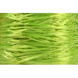 Ψάθα - Raffia Μονόχρωμη Γυαλιστερή Λαχανί 47