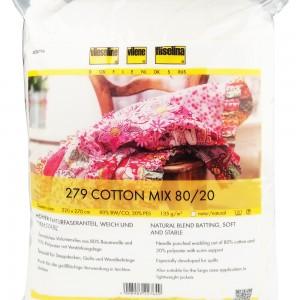 Βάτα 279 Cotton Mix Qeen Size  80/20 Vlieseline