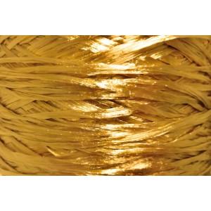Ψάθα - Raffia Μονόχρωμη Χρυσό Μουσταρδί 20