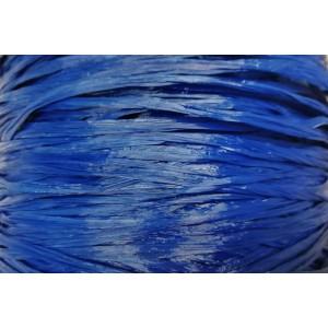 Ψάθα - Raffia Μονόχρωμη Ματ Μπλε 17