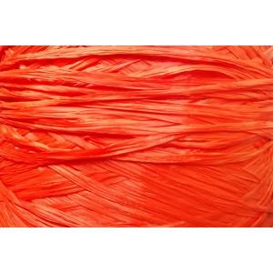 Ψάθα - Raffia Μονόχρωμη Ματ Πορτοκαλί 22