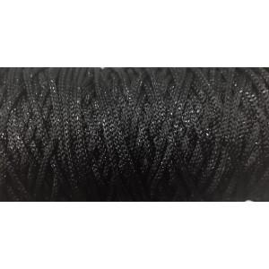 Ρεγιόν Μεταλλίκ Μαύρο 306