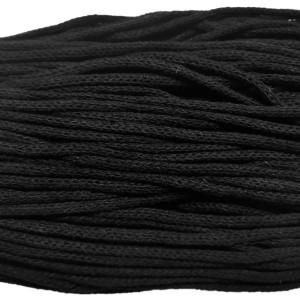 Κορδόνι Βαμβακερό Μαύρο 900