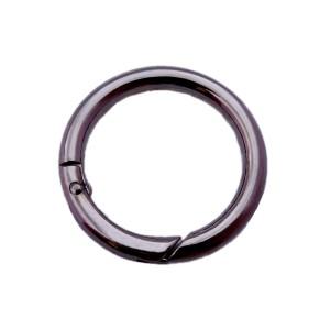 Κρίκος ανοιγόμενος 25mm μαύρο νίκελ