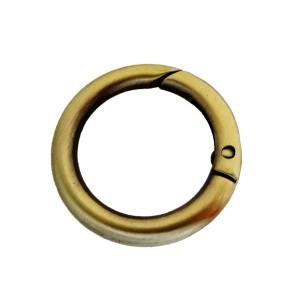 Κρίκος ανοιγόμενος 25mm μπρονζέ